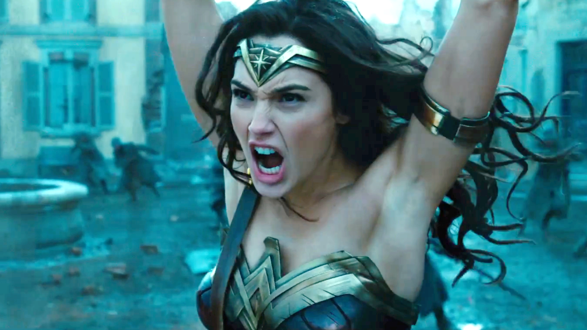 Wonder Woman, tráiler épico definitivo.