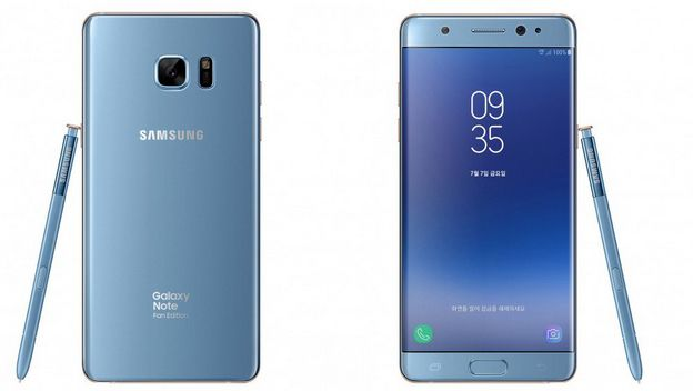 Samsung Galxy Note 7 Fan Edition ya es oficial