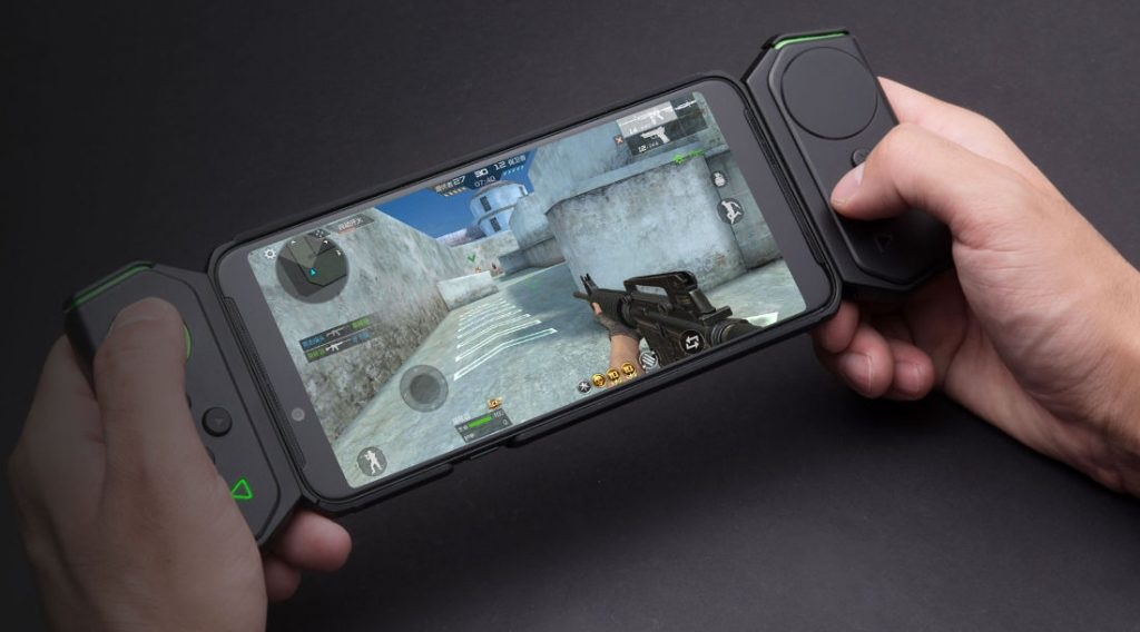 Xiaomi Black Shark Helo, con hasta 10GB RAM y doble GAMEPAD